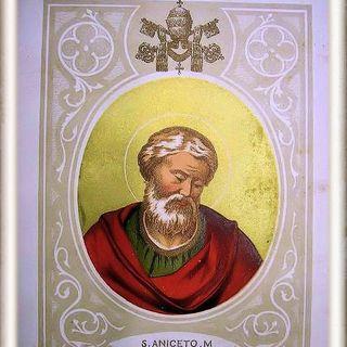 San Aniceto, Papa