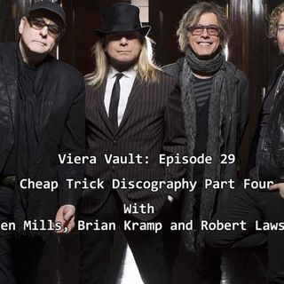Episode 31: Cheap Trick Discography Part Four w/ Ken Mills, Brian Kramp and Robert Lawson