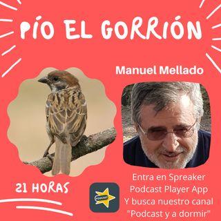 60. Pío el gorrión. Manuel Mellado.