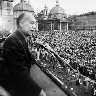Giorgio Almirante: «I nostri nemici»