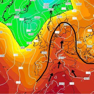 Previsioni meteo 15-17/06, stabile in pianura, qualche temporale di calore in montagna