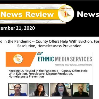 ONR: 12-21-20 - Watch review of the COVID1-9 pandemic and how it is affecting LA County housing