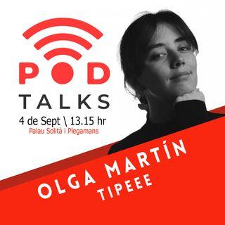 Las mejores estrategias de contenido para obtener más mecenas en tu proyecto, con Olga Martín de @Tipeee_ES