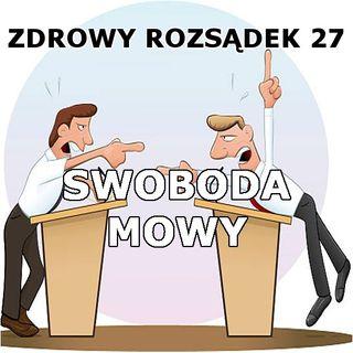27 - Swoboda mowy