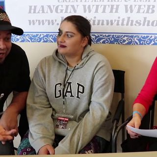 #TakeItDeep in Conversation with Podcasters Tyger Smith & Cookie on the Hangin With Web Show