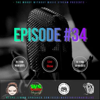 The Moody Without Music Stream EP34 hosted by IBJ