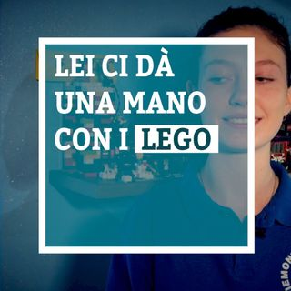 Lei ci dà una mano con i Lego - Greta Galli - Umano #0.3