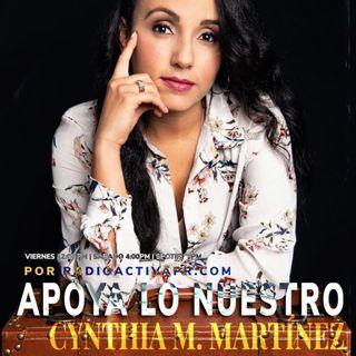 Apoya Lo Nuestro | Cynthia M. Martínez, Gerardo Rivas y Yeika