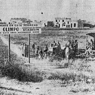 Inauguración de la cancha de Olimpo