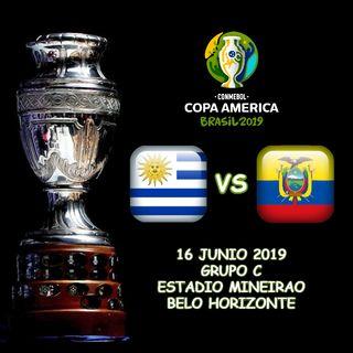 Uruguay vs Ecuador en VIVO