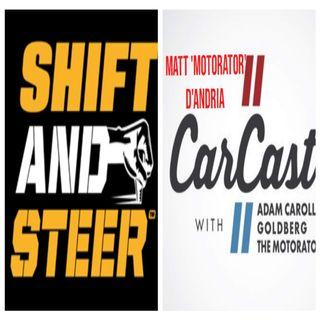Podcaster - Matt 'Motorator' D'Andria Part 1 (Shift and Steer / Car Cast)
