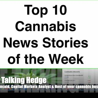 Top 10 Cannabis News Stories of the Week