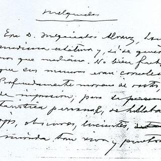 El manuscrito de Melquiades cumple 50 años