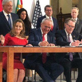 Firma del protocolo modificatorio al T-MEC