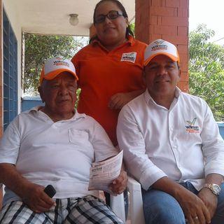 Eduardo Santos Ahumada con Wilman Vargas