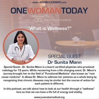 """What is Wellness?"" Featuring Dr. Sunita Mann [One Woman Today]"