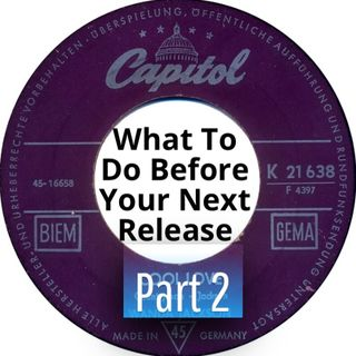 What To Do before Your Next Release - Part 2