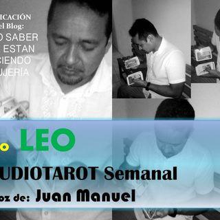TAROT gratis LEO Audiotarot semanal tercera semana de ABRIL