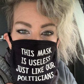 Anti-Mask Protest Leader - Melodie Storm