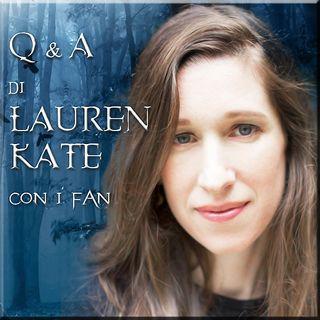 #Fallen Q&A di #LaurenKate con i fan