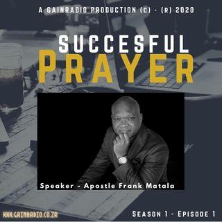 Succesful prayer podcast