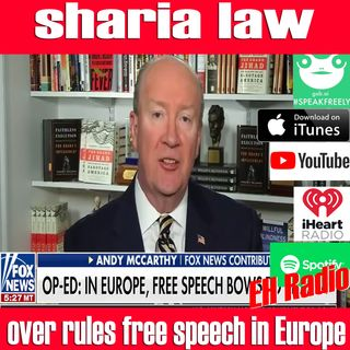 Morning moment Sharia law over rules free speech in Europe Oct 31 2018