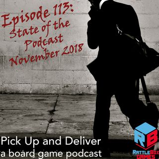PUaD 113: State of the Podcast, Nov 2018