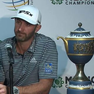 FOL Press Conference Show-Mon Feb 25 (WGC Mexico-Dustin Johnson)