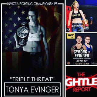 UFC 214 Co-Headliner Tonya Evinger
