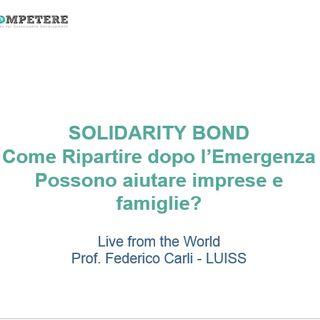 #CompetereLive Ep.1: Solidarity Bond. Come ripartire dopo l'emergenza
