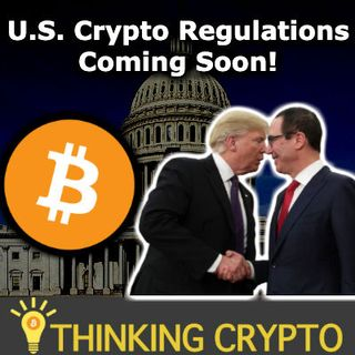 US CRYPTO REGULATIONS SOON Steve Mnuchin Trump IMF - Binance US & BRD XRP - Bitcoin Miner Stock Up