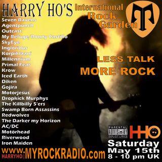 Harry Ho's intern. Rock Garden 15.05.2021