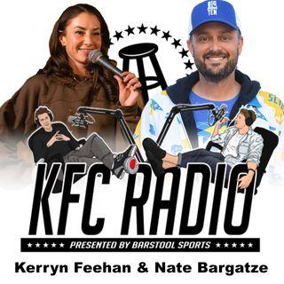 Nate Bargatze, Kerryn Feehan, and COME ON MAMA BIRD!
