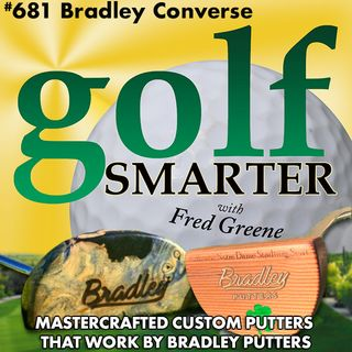 Handcrafted Customized Putters that Work with Artisan/Engineer Bradley Converse