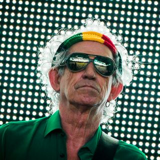 TROVATO VIVO - Keith Richards