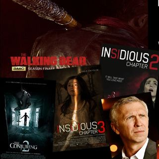Conjuring,Insidious,TWD  Steve Coulter w/GhostMan&Demon Hunter