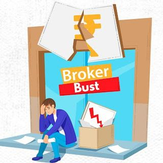 What happens when Brokers go Bankrupt or are Busted?