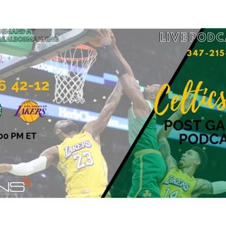 POSTGAME: Celtics @ Lakers | Feb. 23 | Jayson Tatum | LeBron James