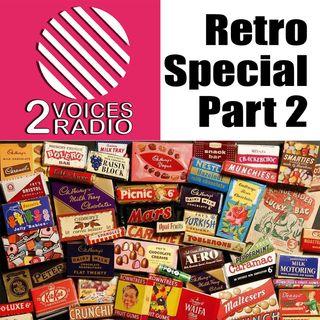Retro Themed Show Part 2.  Goodies, cookery, emporium, buildings, furniture, airlines, music EP 65