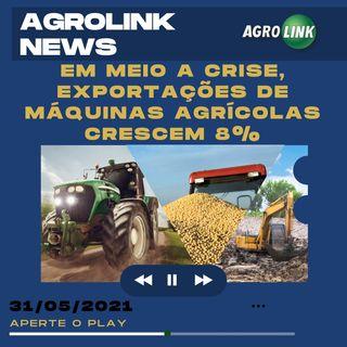 Podcast: Crescem as exportações brasileiras de máquinas agrícolas