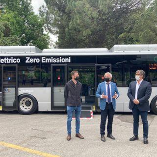 Entra in funzione il primo bus elettrico della provincia. A emissioni zero e autonomia di 400 km