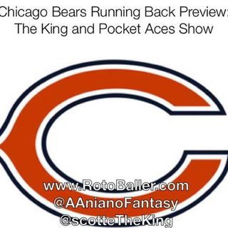 Chicago Bears Running Back Preview: The King and Pocket Aces Show