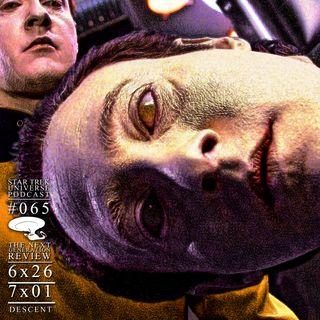 """'Picard' Primer - """"Descent"""" (TNG 6x26 & 7x01) Review"""