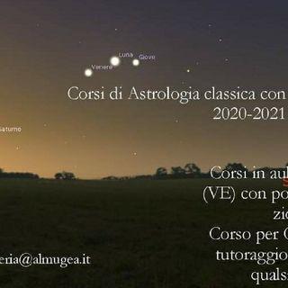 Corsi di Astrologia della Scuola Almugea