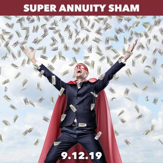Another annuity pitching charlatan exposed