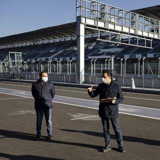 Será hospital el Autódromo Hermanos Rodríguez