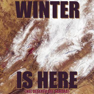 #smo Nevica nel deserto