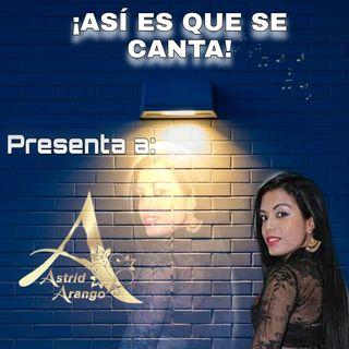 Astrid Arango: música popular, tropical y boleros