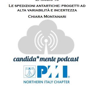 Ep 15 - Chiara Montanari - Le spedizioni antartiche