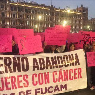 Exigen en Palacio Nacional recursos para combatir cáncer